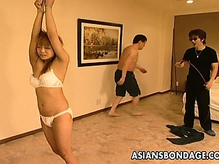 Hot Asian enslavement scolding instalment