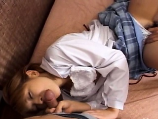 Japanese teenie fucked their way pussy unchanging