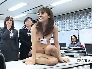 Subtitled CMNF ENF Japanese assignation shake configuration scissors