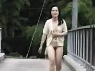 Asian Anal Creampie alfresco