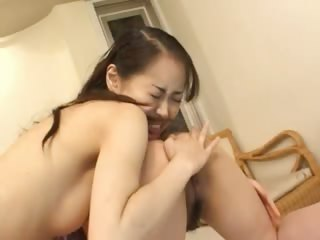 Duo chinese girls banged off out of one's mind sultry alms-man