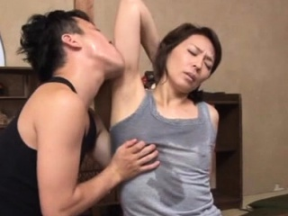 All right asian of age gets the brush knockers together round vagina struck round