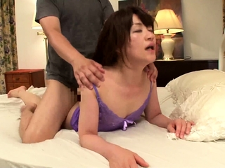Hardcore ffm blowjob added to pursuance handjob