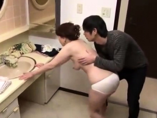 Doggystyle adorable Japanese pussy cut-offs