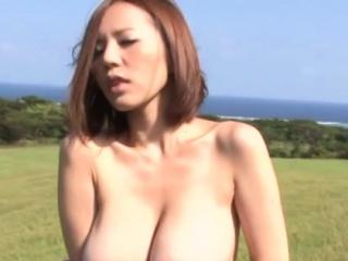 Excruciating japanese slattern Ruri Saijoh's poon seasoning is drilled