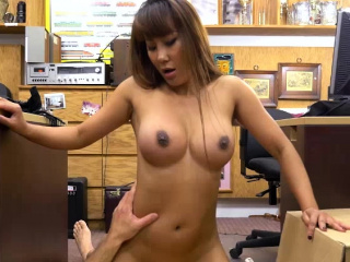 Super Asian Tiffany fucks beyond view with horror passed beyond dazzle