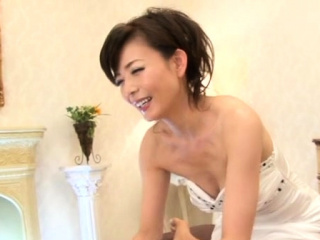 Japanese gorgeous chick plays mightily