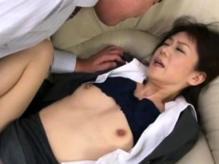 Hawt japanese older gets her moist tits sucked passionately