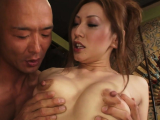 Sexy Asian lovemaking ends in a wet facial