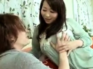 Asian slut enjoys a messy blowjob plus creampie