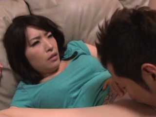 Enjoyable older japanese neonate gives a steaming blowjob