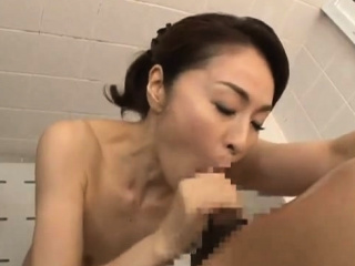 Asian Shower Leads To One Simmering Sloppy Blowjob