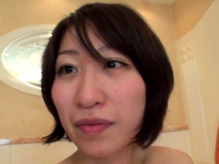 Small titted amateur cutie bulky BJ in POV in the sex bus