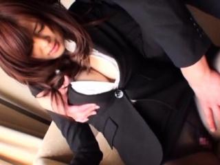 Raunchy newcomer disabuse of lady Ramu Hoshino fucked properly