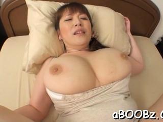 Hot mature get the hang Nami Horikawa with big tits enjoys backside fuck