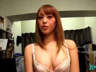 Steamy impersonate for the oriental luscious chick