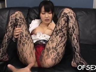 Delectable sweetheart Arisa Misato fucks lucky urchin