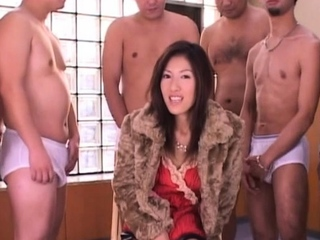 Skinny japan female doc outstanding team fuck and bukkake