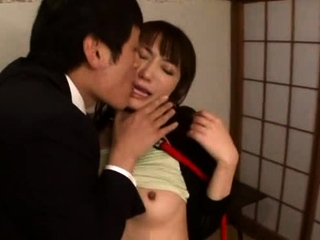 Swingeing japanese crumpet Saki Kouzai gets penetrated impenetrable depths