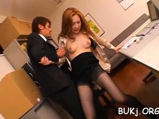 Dicks obtain jerked by aroused little one ayumu