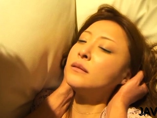 Adorable mature Manami Suzuki fucked added to licked