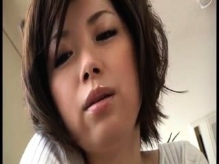 Cutie french close by stockings pov
