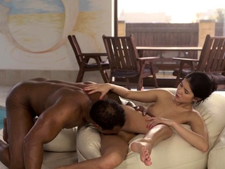 BLACK4K. Muscular black coach satisfies all dirty needs