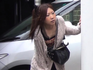 Japanese peeing babes get spied chiefly