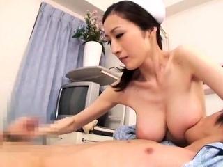 Maid uniform fucks blowjob handjob