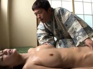 Body Rub down in an Asian Rub down Parlor