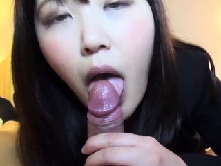 POV Asian homemade sexual congress with embarrassing creampie