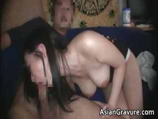 Cute unlighted asian cosset give admirable part3