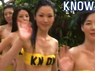 Korean Appreciate Girls Stash abundance Team up Rub down
