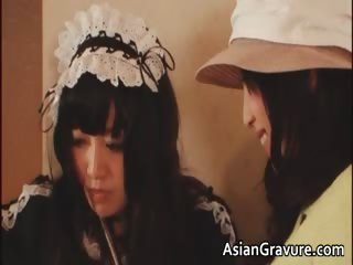 Grotesque asian housewife plus sunless young gentleman part5